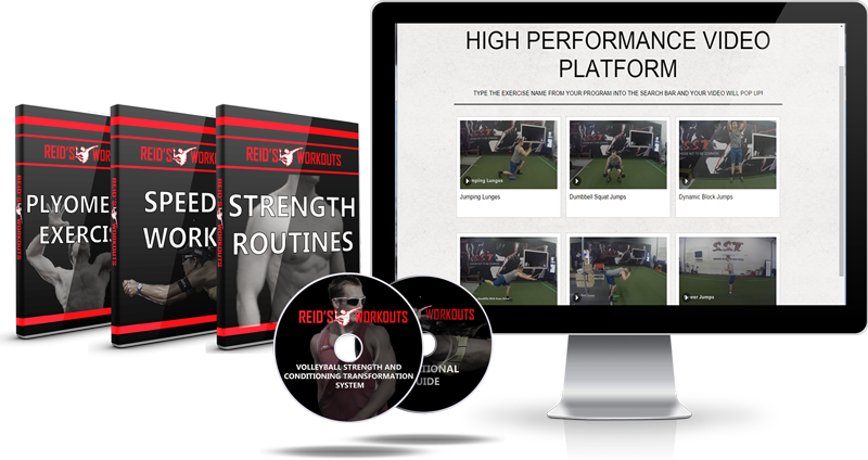 high performance volleyball programs video platform