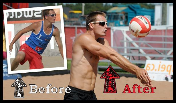 volleyball workout program before and after