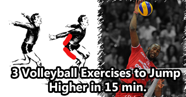 3 Volleyball Exercises to Jump Higher in 15 min.