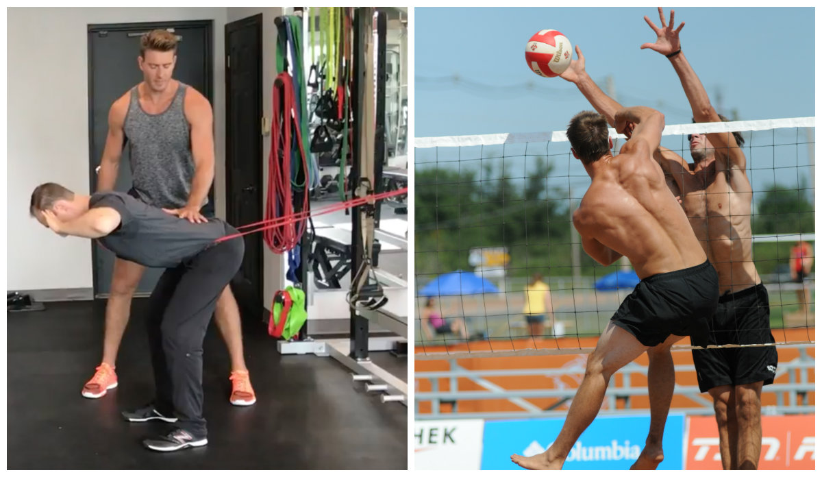 3 Volleyball Specific Warm Up Exercises