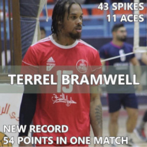 Reid's Workouts Volleyball Terrel Bramwell professional player