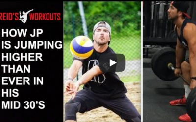 JP's Full Workout and Training Strategy with Reid's Volleyball Workout