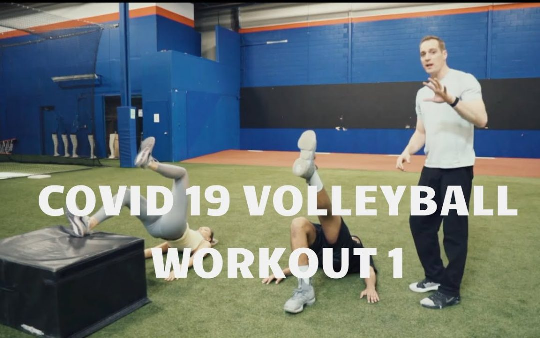 COVID-19 Volleyball At Home Workout 1 Full Body Strength at Reids Workouts