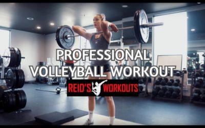 Volleyball Strength Training w/ Sophie Bukovec & Alex Poletto   Part 2: Strength/Power Development