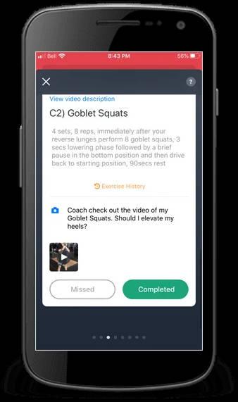 Reid's Workouts Volleyball App screenshot 2