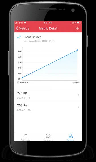 Reid's Workouts Volleyball App screenshot 5