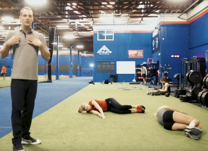 4 COVID 19 At Home Volleyball Mobility Drills | Reid's Workouts