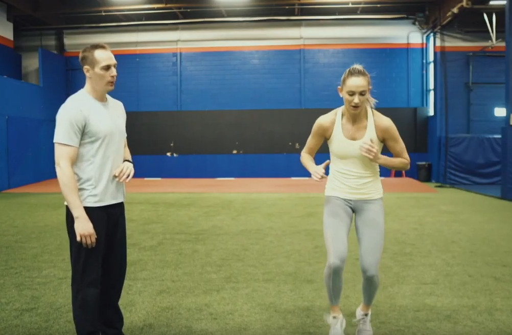 4 Volleyball Defense Exercises For Faster Feet with Reid's Workouts