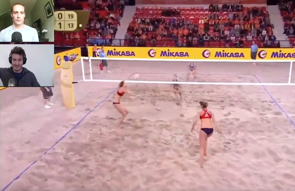 Core Training to Be an Elite Level Beach Volleyball Blocker with Reid's Workouts