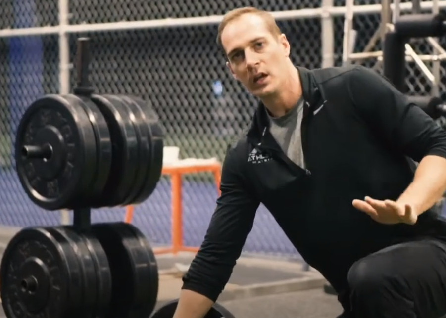 How to Barbell Hip Thrust Strength-Exercise to Jump Higher