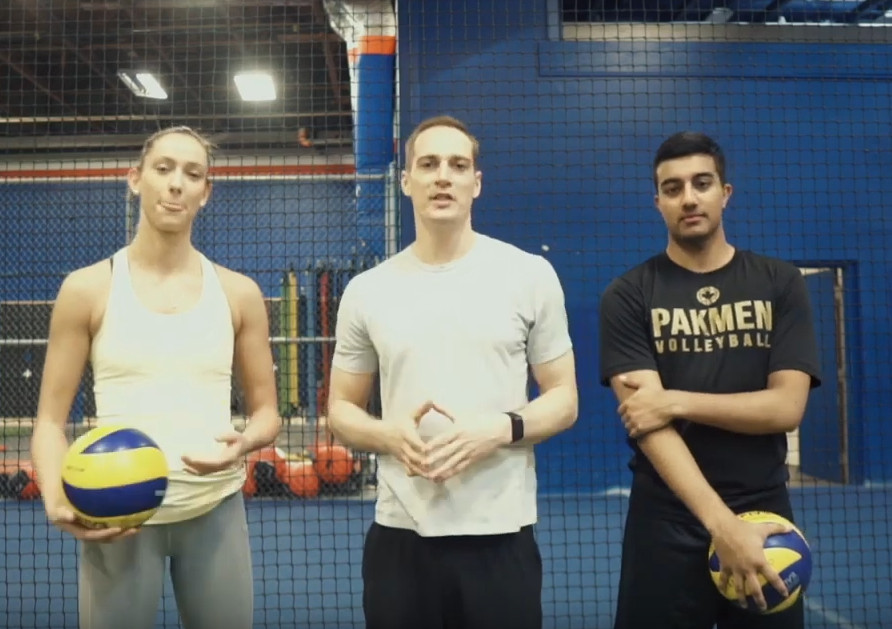 How to Become a Better Volleyball Defender with Reid's Workouts