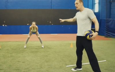 Volleyball Defence Drills For Improved Footwork and Speed