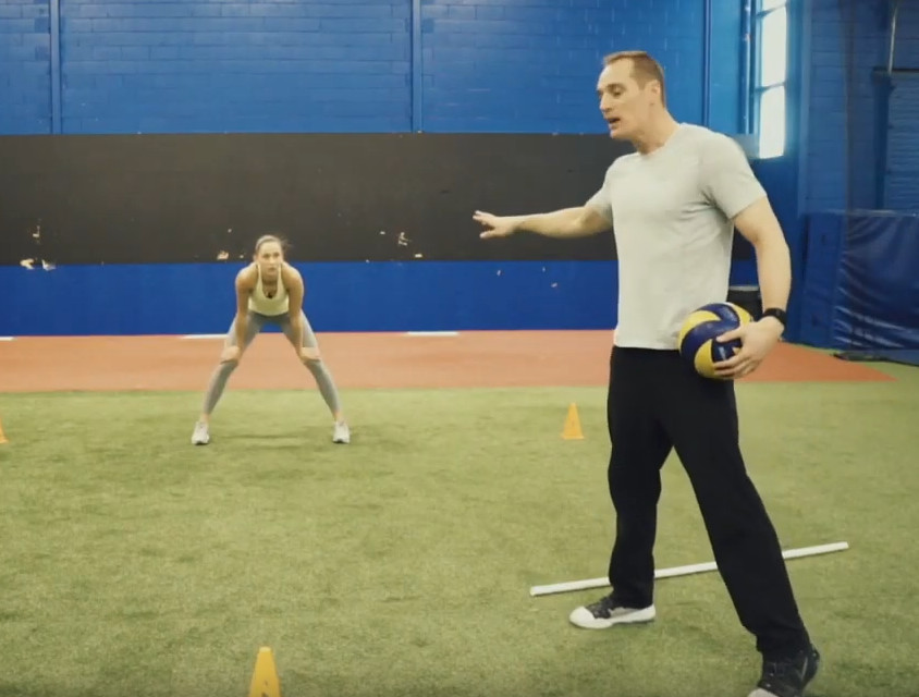 Volleyball Defence Drills For Improved Footwork and Speed with Reid's Workouts