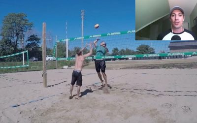 Volleyball Workout in the Sand | Plyometrics and Conditioning